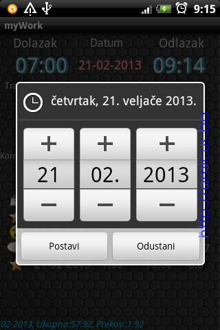 Izbor datuma