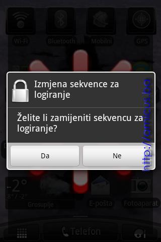 Zamjena sekvence za logiranje