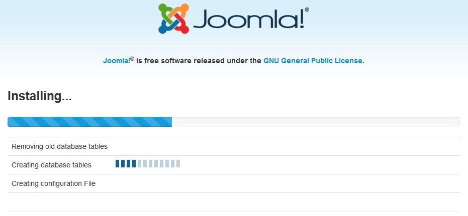 Joomla 3.4.8 instalacija