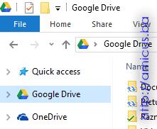 Google drive ikonica